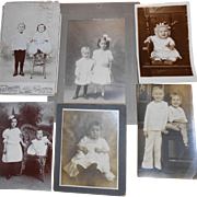 SALE Pictures of Children From Era Gone By
