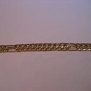 SALE Alluring  Vintage 18 K yellow Gold Bracelet