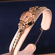 14 K Gold Cornell Ladies Wrist Watch