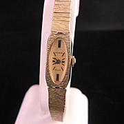 Vintage 1950's ladies Wittnauer bracelet wrist watch
