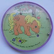 REDUCED $ale: Hand Dexterity Puzzle-Game-Toy - Applejack - Hasbro Bradley - 1984