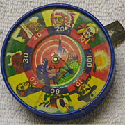 REDUCED $ale: Hand Dexterity Puzzle-Game-Toy - Shooting Gallery - Vintage - Japan