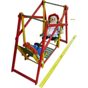 $ale: Toy Swing Set - Vintage 1930s - Wood