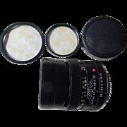 SOLD $ale: LEICA Leitz Elmarit f2.8 90mm. Lens