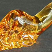 SOLD SALE: Crystal Otter - Orrefors Glassworks - World Wildlife Fund - 1974