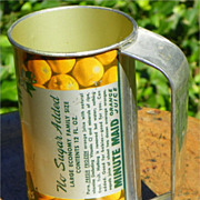 SALE Advertising: Minute Maid Frozen Orange Juice tin - with Handle - Vintage
