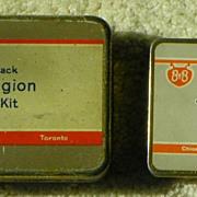 REDUCED $ALE: Bauer & Black - B&B - Junior Legion First Aid Kits - Vintage
