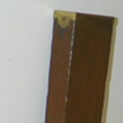 "SALE SALE: Level - Cherry Wood & Brass - Stanley Tool - 26"" Long - Vintage"