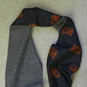 "SALE Pucci Candida Praecordia Scarf - Silk & Wool - Reversible - 52"" long"