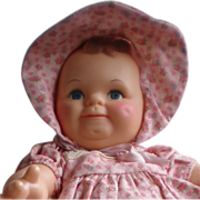 "REDUCED 15"" Kewpie Rose O'Neil Cameo Scootles"