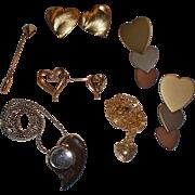 SALE Vintage Hearts