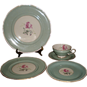 REDUCED Royal Tettau China Melrose Pattern Five Piece Place Setting