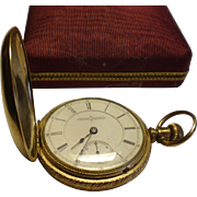 Antique Aurora Pocket Watch - 7.5 Jewels
