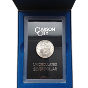 Carson City Silver Dollar 1884 Uncirculated