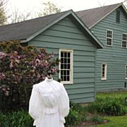 SALE Circa 1900 Victorian Tea or Garden Dress
