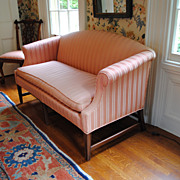 SALE Kittinger Federal Style Mahogany Loveseat Or Small Sofa...Elegant