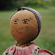 REDUCED Black or Mulatto or Middle Eastern Cloth Doll Found In France