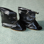 SALE Circa 1890-1910 German Manufactured Boots