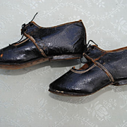 "SALE ""Charmant"" French Shoes For A Child Or Big Doll"