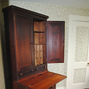 SALE American Country Cherry Secretary Desk....Circa 1830