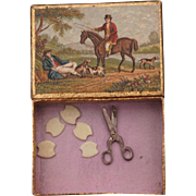 Miniature Sewing Items For A French Fashion