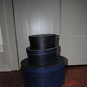 SALE PENDING Set Of 3 Thomas Annett Factory Boxes Circa 1859-1903