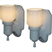 Vintage Bungalow Bathroom Sconces