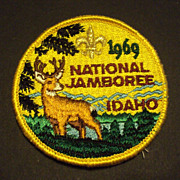 REDUCED Vintage Boy Scout 1969 National Jamboree Pocket Patch