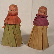 SALE Rare 1930's Pair of Winnie Walker Ramp Walker Dolls Toys