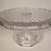 Fostoria Coin #1372 Cake Stand Pedestal Plate