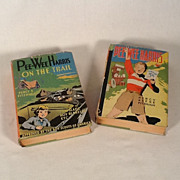 SOLD Pee Wee Harris Boy Scout 1922 First Edition Books W/Dust Jackets