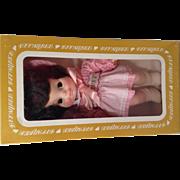 Vintage Effanbee Half Pint Vinyl Doll 1966 Original Tag in Box 6226