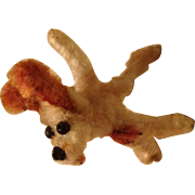Vintage Chenille Pipe Cleaner Dog 2""