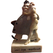 Schafer & Vater Comical German Good bye Sweetheart Figurine or Figure