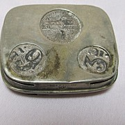 English 5 slot Coin Holder