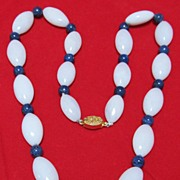 REDUCED Chinese Hard Stone Necklace