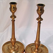 SALE Rare Copper Candlesticks