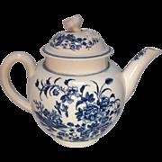 SALE 18th Century Worcester  Tea Pot
