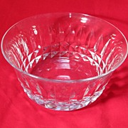 SALE Baccarat Crystal Nut Dish