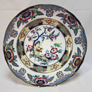 SALE Antique English  Plate   Charles Meigh