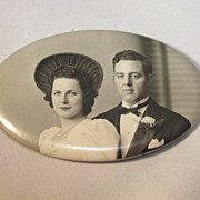 Wedding souvenir Photo Mirror