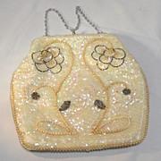 SALE Sequin Beaded Hand Bag