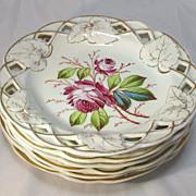 SALE Porcelain Desert Plates
