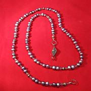 Baroque Type Beaded Necklace
