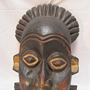 SALE Primitive African Decorative Mask Wood