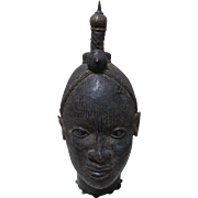 SALE Ife Bronze Head Benin Africa