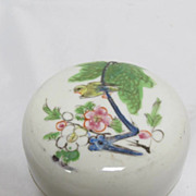 REDUCED Antique Chinese Seal Paste Box