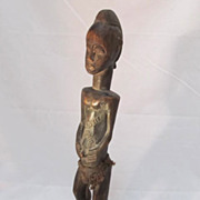 REDUCED African Baule Female Figure Ivory Coast
