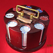 Cardinal Tournament Poker Set Revolving Stand
