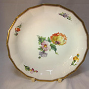 SALE Royal Copenhagen Soup Plate Floral